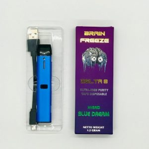 Brain Freeze Delta 8 Blue Dream Disposable - Hybrid