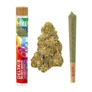 DELTA 8 THC PRE-ROLL – BERRY WHITE