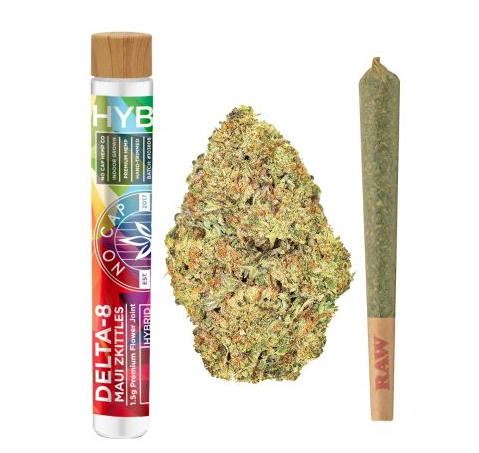 DELTA 8 THC PRE-ROLL – MAUI SKITTLEZ